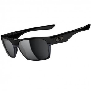 Oakley Twoface Polarized Sunglasses - Polished Black/Black Iridium