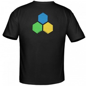 Channel Islands Curren GYB Hex T-Shirt - Black