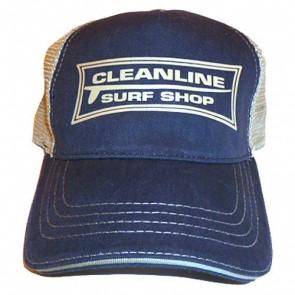 Cleanline Longboard Mesh Hat - Navy/Khaki