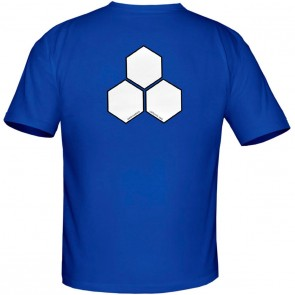 Channel Islands Curren White Hex T-Shirt - Royal