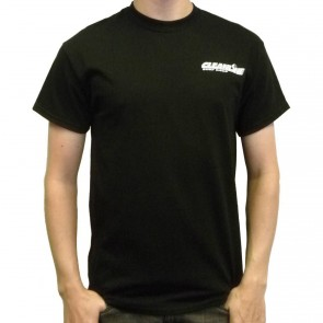 Cleanline Corp Logo/Big Rock T-Shirt - Black/White