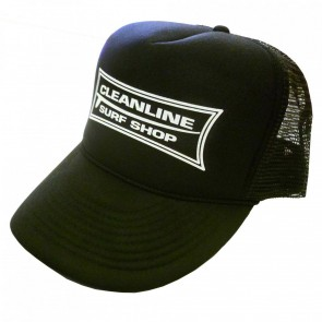 Cleanline Longboard Mesh Hat - Black