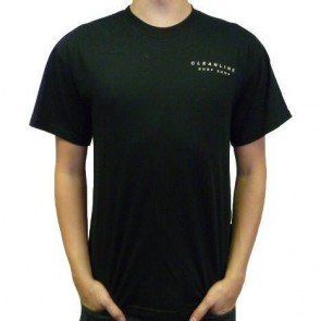 Cleanline Mural  T-Shirt - Black