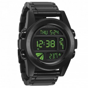 Nixon Watches - The Unit SS - All Black/Green