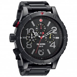 Nixon 48-20 Watch - All Black/Multi