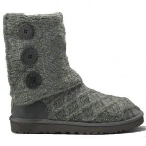 UGG Australia Lattice Cardy - Charcoal