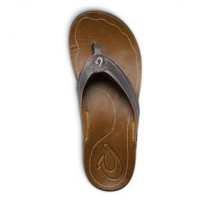 Olukai Women's Kumu Sandals - Pewter/Rattan