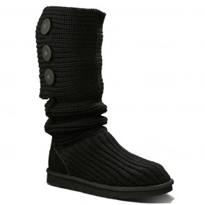UGG Australia Classic Cardy Boots - Black
