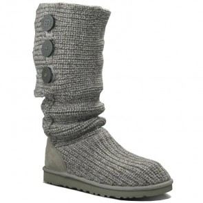 UGG Australia Classic Cardy Boots - Grey