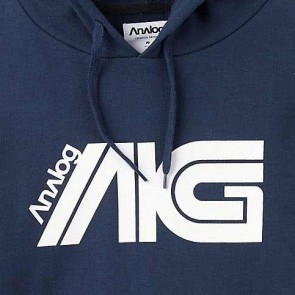 Analog Flight Hoodie - Navy Blue