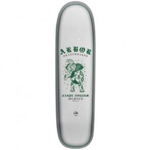 Arbor Cucharon Blanco Longboard Deck