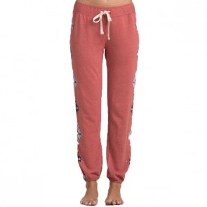 Billabong Women's Turn It Up Sweatpants - Rustic Rose