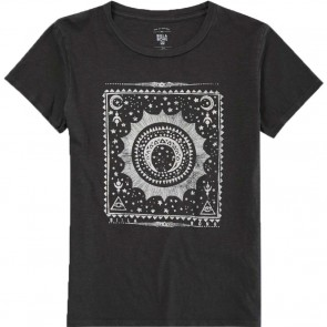 Billabong Women's Stay Magic T-Shirt - Off Black