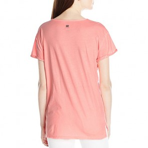 Billabong Women's Forever Coastal Top - Coral Shine