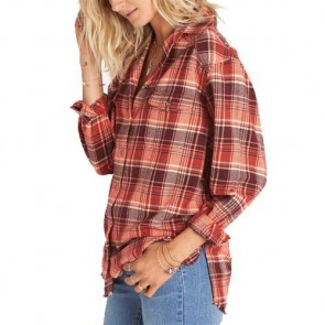 Billabong Women's Wild Adventure Flannel - Bordeaux
