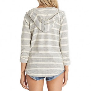 Billabong Women's Along Side Hoodie - White Cap