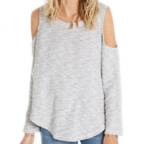 Billabong Women's Surprise Me Fleece Pullover - Cool Wip