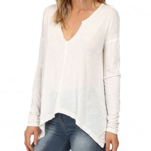 Billabong Women's Old Crush Long Sleeve Top - Cool Wip
