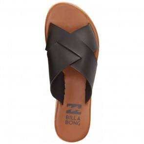 Billabong Women's Heat Wavez Sandals - Off Black