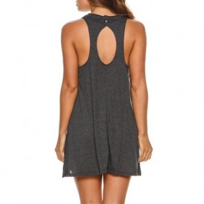 Billabong Women's By And By Dress - Off Black