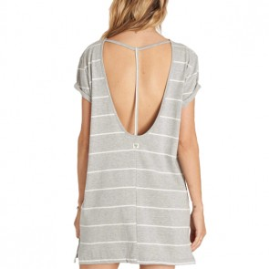 Billabong Women's Down Time Dress - Athletic Grey