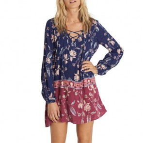 Billabong Women's Just Like You Dress - Starry Night