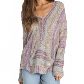 Billabong Women's Seaside Ryder Stripe Sweater - Multi