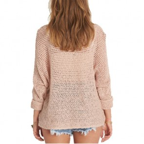 Billabong Women's Dance With Me Sweater - Rose Dust