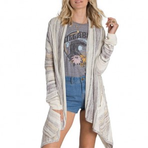 Billabong Women's Beach Rambler Cardigan - Pearl
