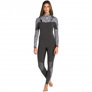Billabong Women's Salty Dayz 3/2 Chest Zip Wetsuit - Geo Diamond