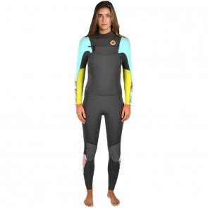 Billabong Women's Salty Dayz 4/3 Chest Zip Wetsuit - 2015