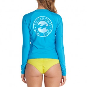 Billabong Women's Core Performance Long Sleeve Rash Guard - Aruba
