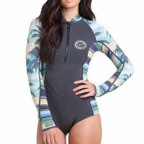 Billabong Women's Salty Dayz Long Sleeve Spring Wetsuit - Palm