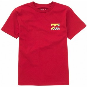 Billabong Youth Mostro T-Shirt - Red