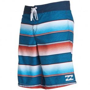 Billabong All Day OG Stripe Boardshorts - Red