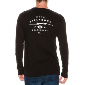 Billabong Shock Long Sleeve T-Shirt - Black