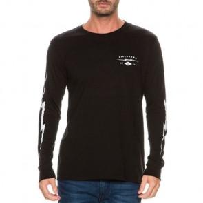 Billabong Shock Long Sleeve T-Shirt - Black