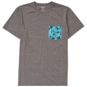 Billabong Team Pocket T-Shirt - Dark Grey Heather