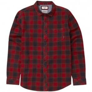 Billabong Fremont Flannel - Red