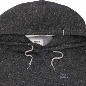 Billabong Balance Pullover Fleece Hoodie - Grey Heather