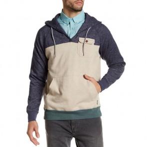 Billabong Balance Half Zip Pullover Hoodie - Sand/Heather