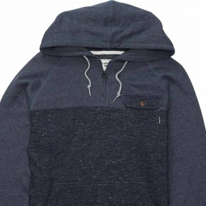 Billabong Balance Half Zip Pullover Hoodie - Indigo Heather