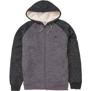Billabong Sherpa Zip Hoodie - Asphalt Heather