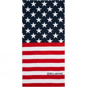Billabong Stars And Stripes Towel - Americana