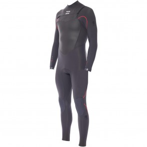 Billabong Furnace 4/3 Chest Zip Wetsuit - Graphite