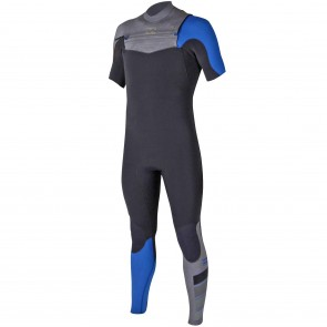 Billabong Furnace Carbon Comp 2/2 Short Sleeve Chest Zip Wetsuit