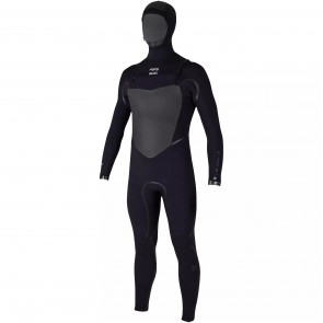 Billabong Furnace Carbon X 5/4 Hooded Wetsuit - Black