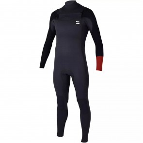 Billabong Revolution Tri Bong 4/3 Chest Zip Wetsuit - Rust