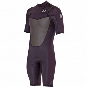 Billabong Foil 2mm Chest Zip Spring Suit - Black