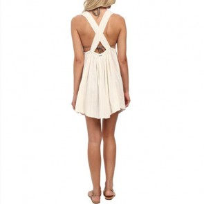 Billabong Women's Just Beachin Coverup - White Cap
